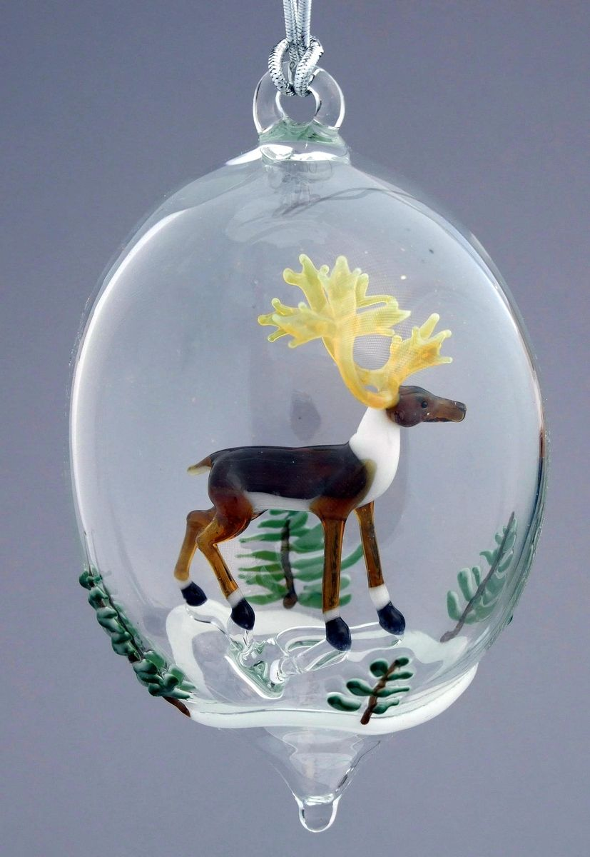 Glass animal ornaments - Glass Ornaments
