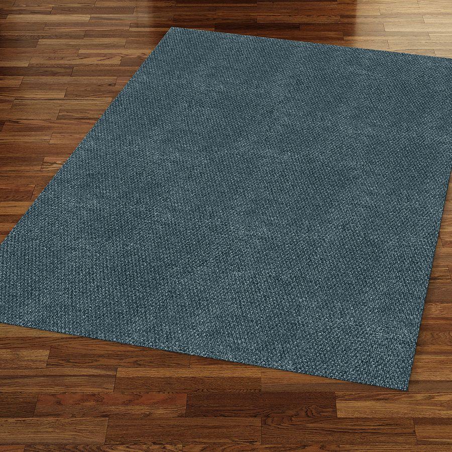 Shop Ecorug Selectelements Rectangular Gray Solid Indoor