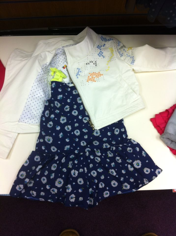 e1f7a68e3 Lili Gaufrette play suit and Desigual Jacket for that Mini Me Look ...