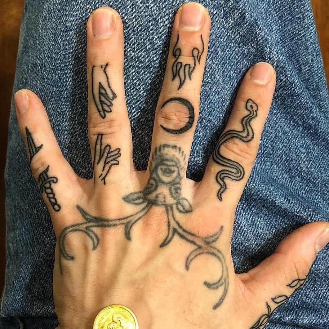 Classy Vision On Instagram Via Culture Tattoo Vision Follow For Daily Tattoos Classyvision Hand Tattoos Cute Hand Tattoos Tattoos