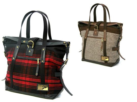 Master-Piece Fall/Winter 2008 Tote Bags | Borse, Totes e Borse larghe