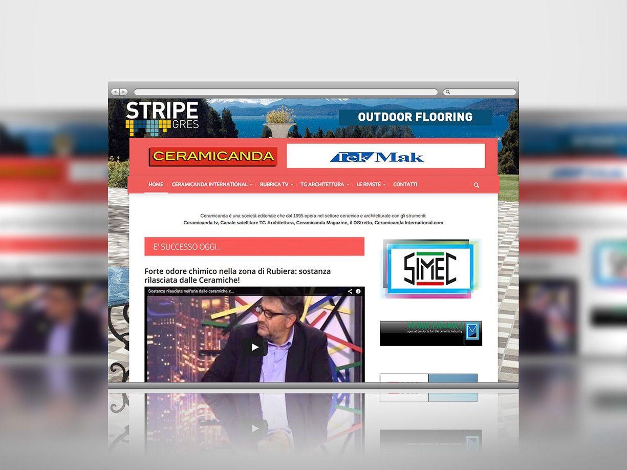 È online il nuovo sito di Ceramicanda firmato Tuttositiweb. Visitalo su www.ceramicanda.com
