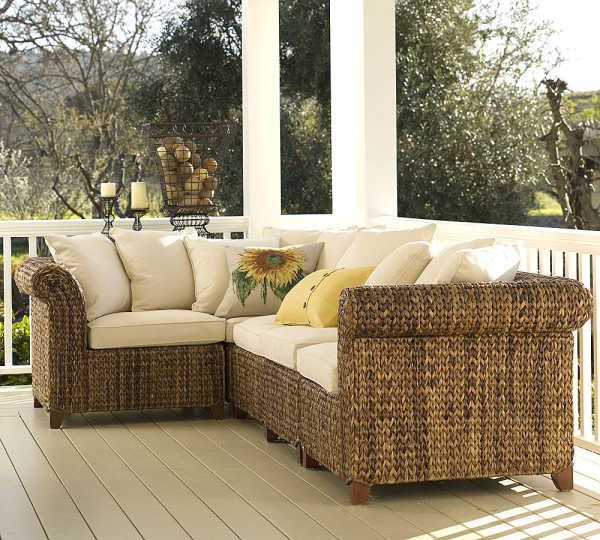 Seagrass Sectional Sofa Furniture Design Seagrass Sectional Sofa
