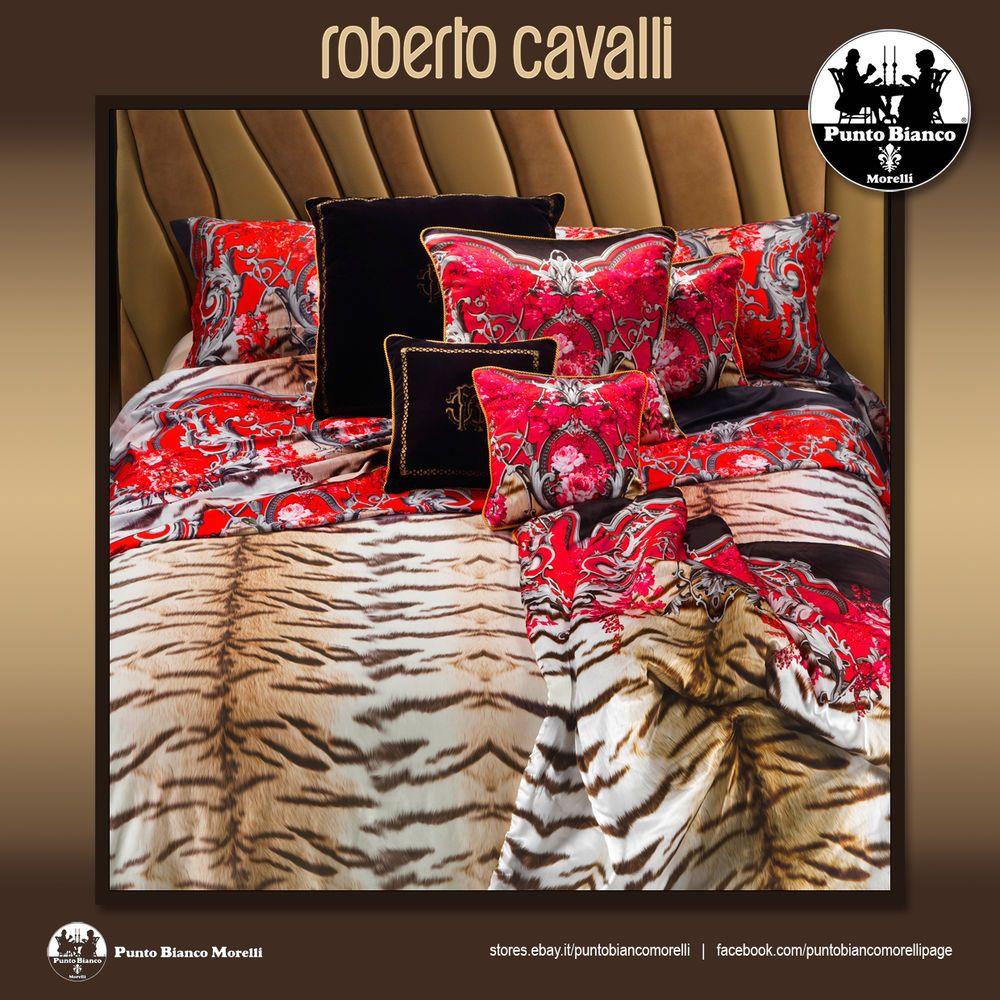 Copripiumino Piu Grande Del Piumino.Roberto Cavalli Savage Completo Copripiumino Full Duvet Cover