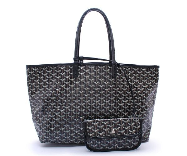 goyard st. louis gm in black | bolsos que me gustan | Pinterest ...