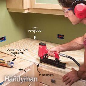 installing tile countertops home tile countertops diy countertops kitchen countertops. Black Bedroom Furniture Sets. Home Design Ideas