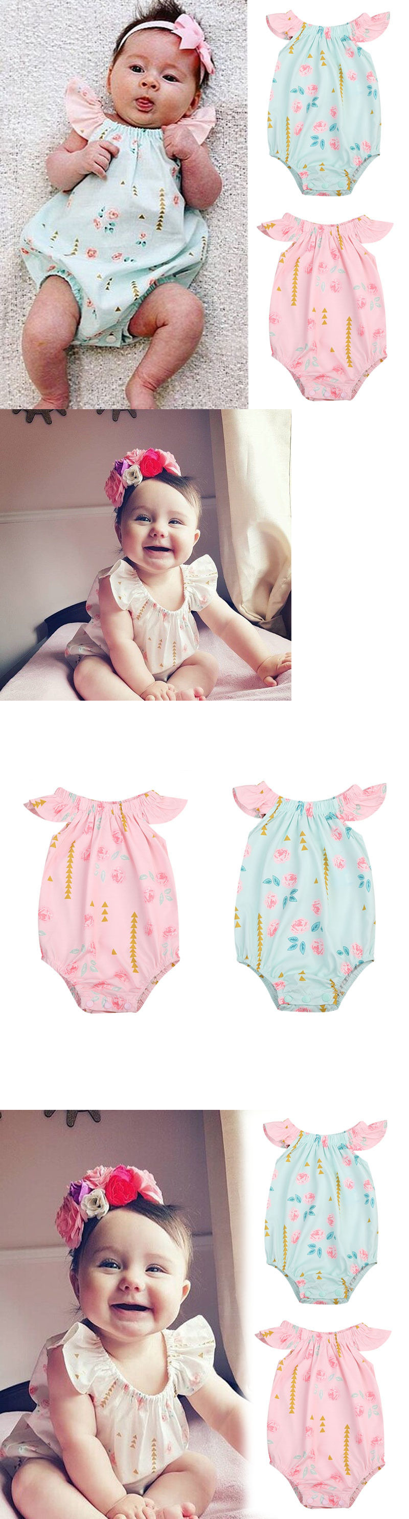 new cheap online retailer buying now Baby Girls Clothing: Us Stock Newborn Infant Baby Girl Floral ...