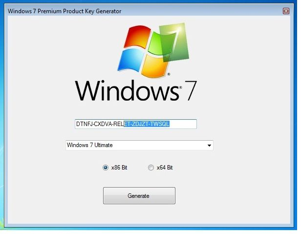 Ключ для windows 7 ultimate 32