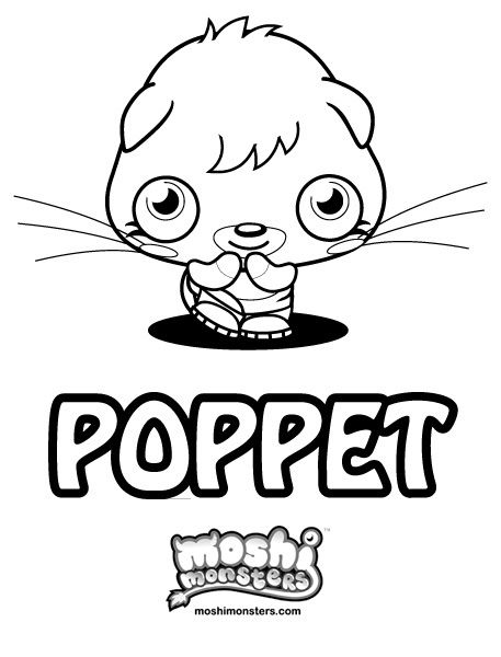 Moshi Monsters Colouring Pages | have you pissed your pants today ...