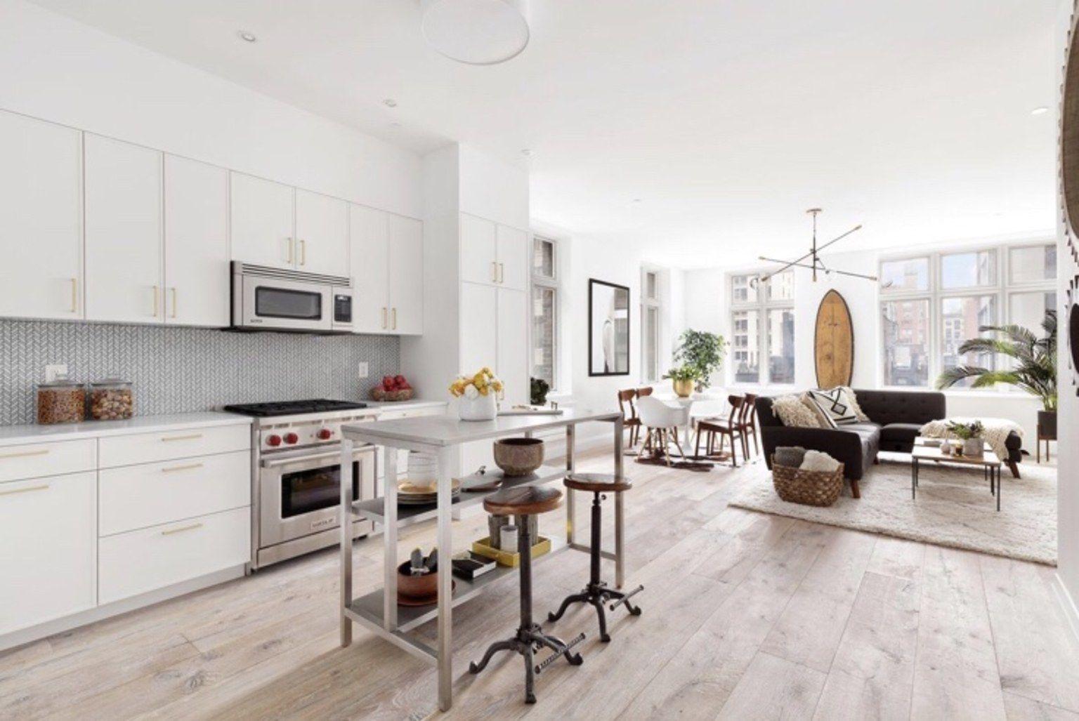 Ira Glass S Completely Renovated New York City Condo Is On The Market For 1 75 Million Home Decor Kitchen Modern Kitchen Design Loft Kitchen