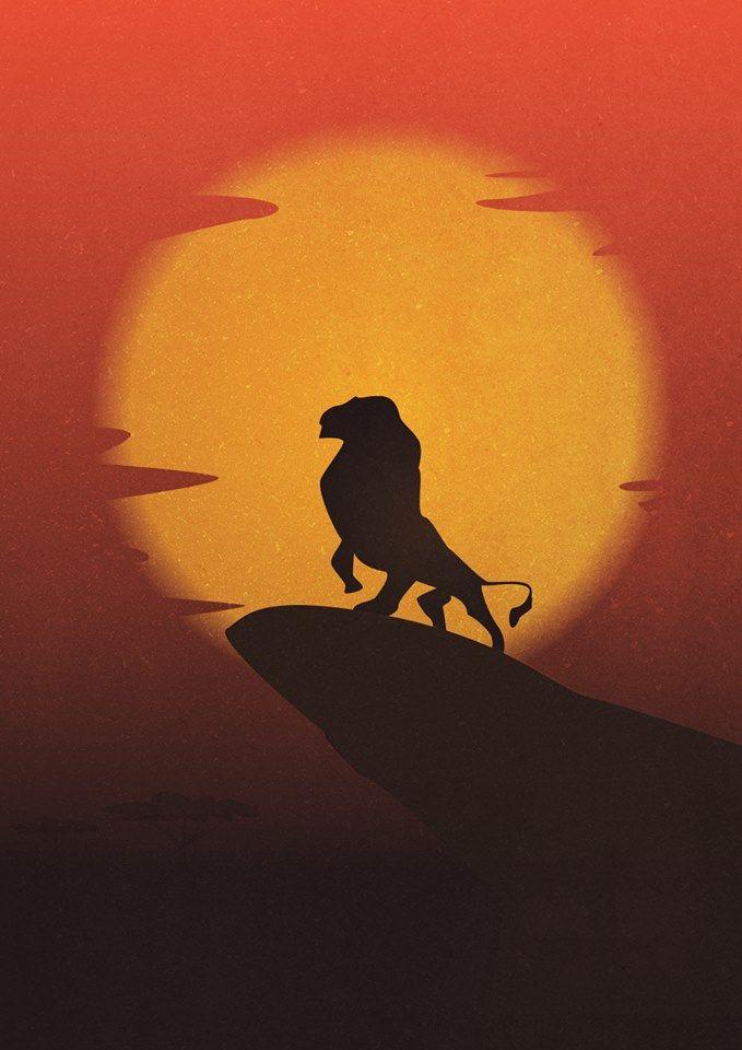 The Lion King 1994 Alternative Movie Poster By Gian Nicdao Amusementphile Disney Illustration Lion Illustration Disney Art