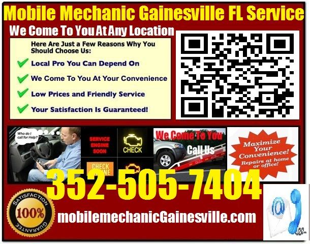 Mobile Mechanic Gainesville Fl Pre Purchase Auto Car Inspection