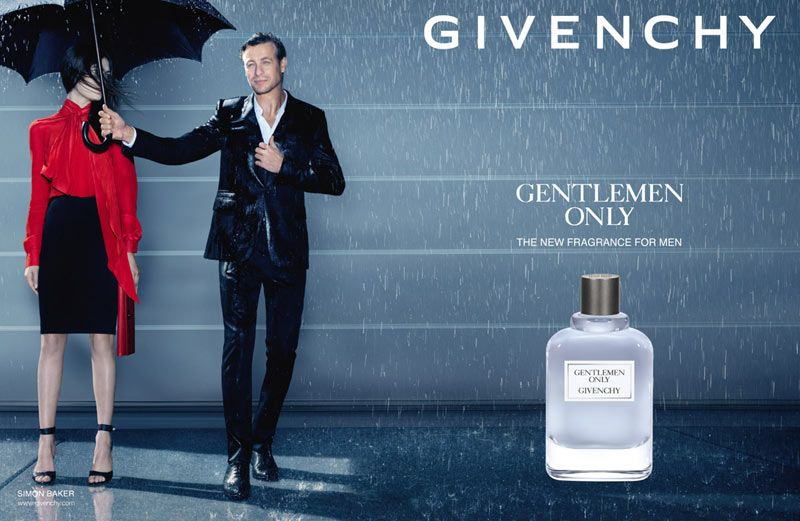 Givenchy Introduces Gentlemen Only Fragrance Campaign With Simon