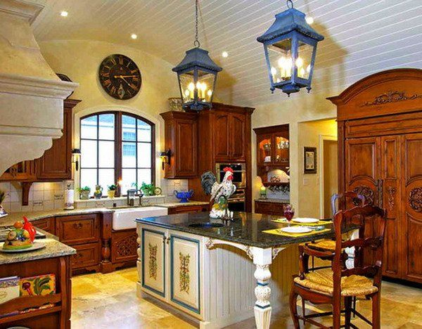 50+ Beautiful Country Kitchen Design Ideas for Inspiration Country - French Country Kitchens