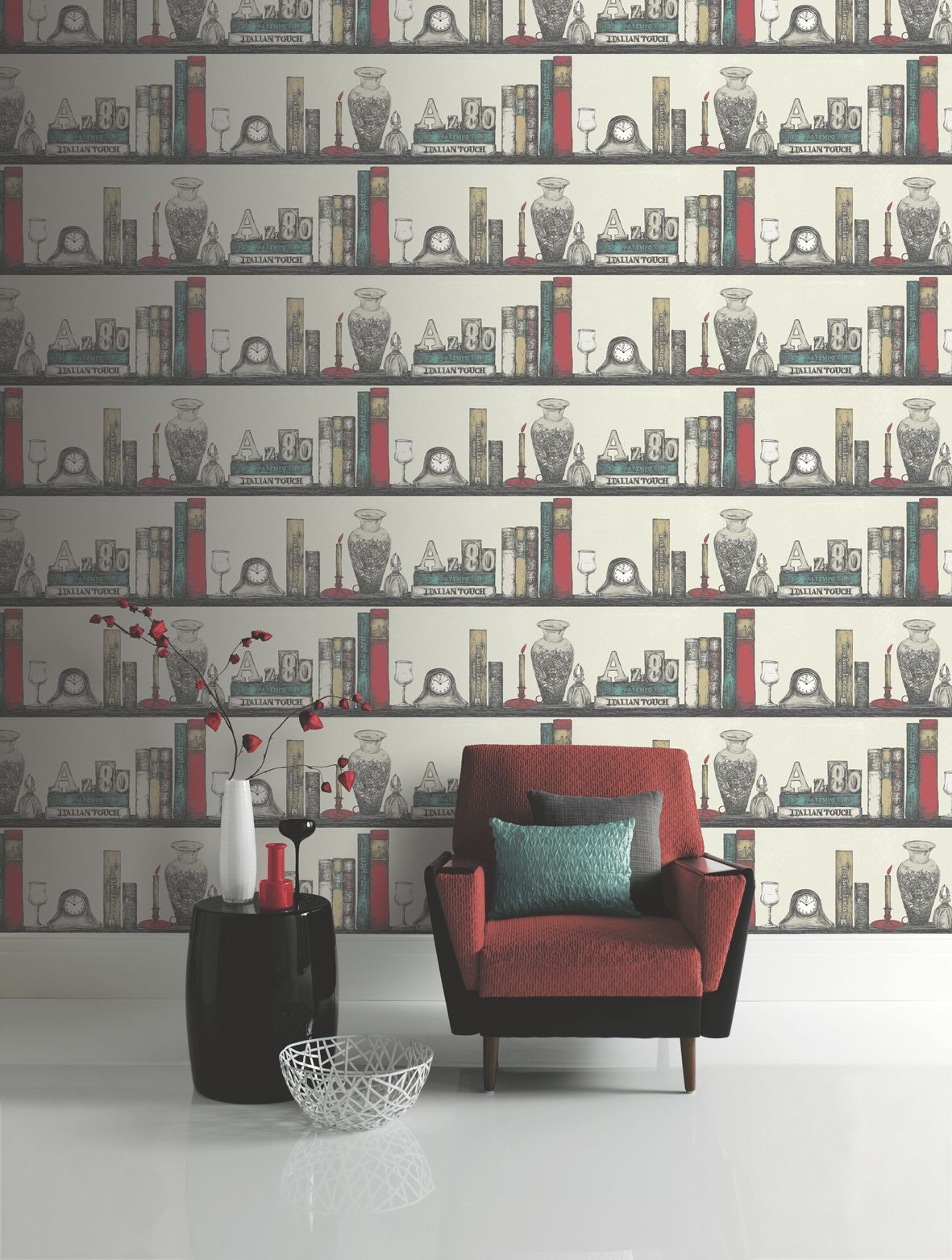 Turn Your Room Into Very Own Library With Our Hamlet Wallpaper Available In A