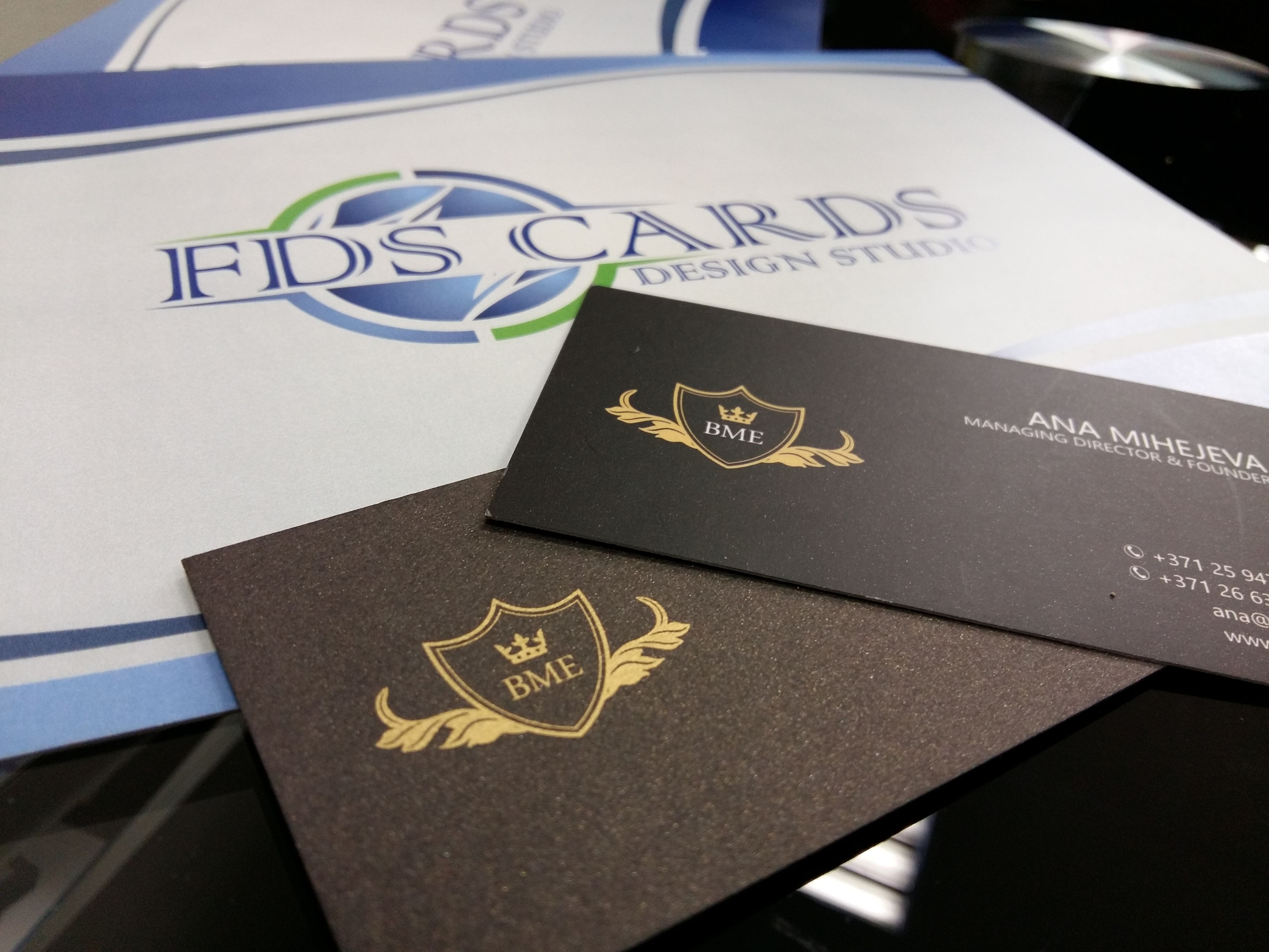 Marketing company black and gold luxury business card blazon marketing company black and gold luxury business card blazon shiny paper silver and reheart Gallery