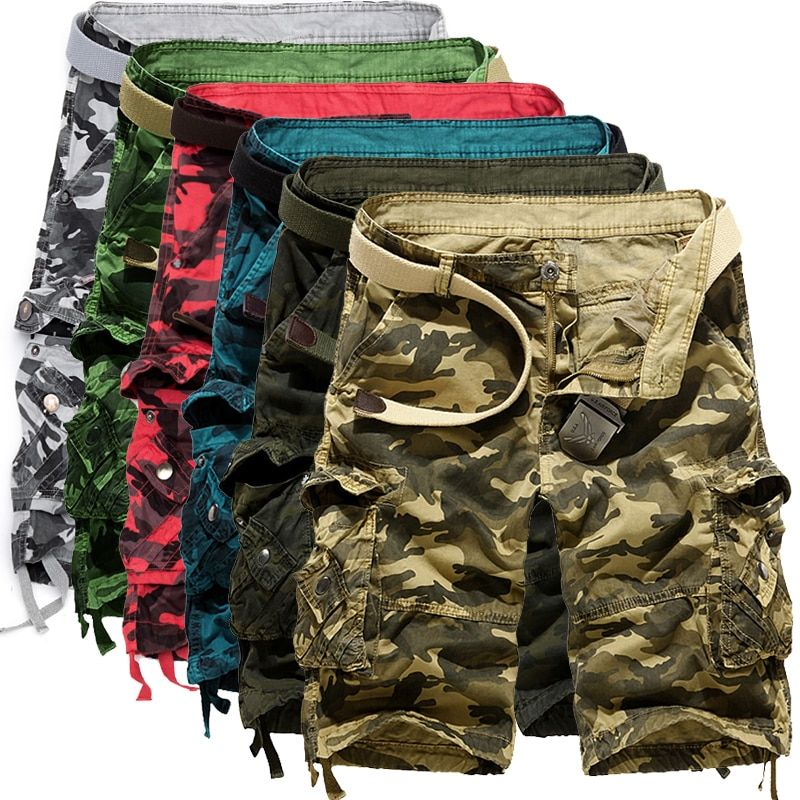 9827e8729b0 Camouflage Loose Cargo Shorts Men Cool Camo Summer Short Pants Hot Sale  Homme Cargo Shorts Plus Size Brand Clothing The Buddy Shoppe Price  …