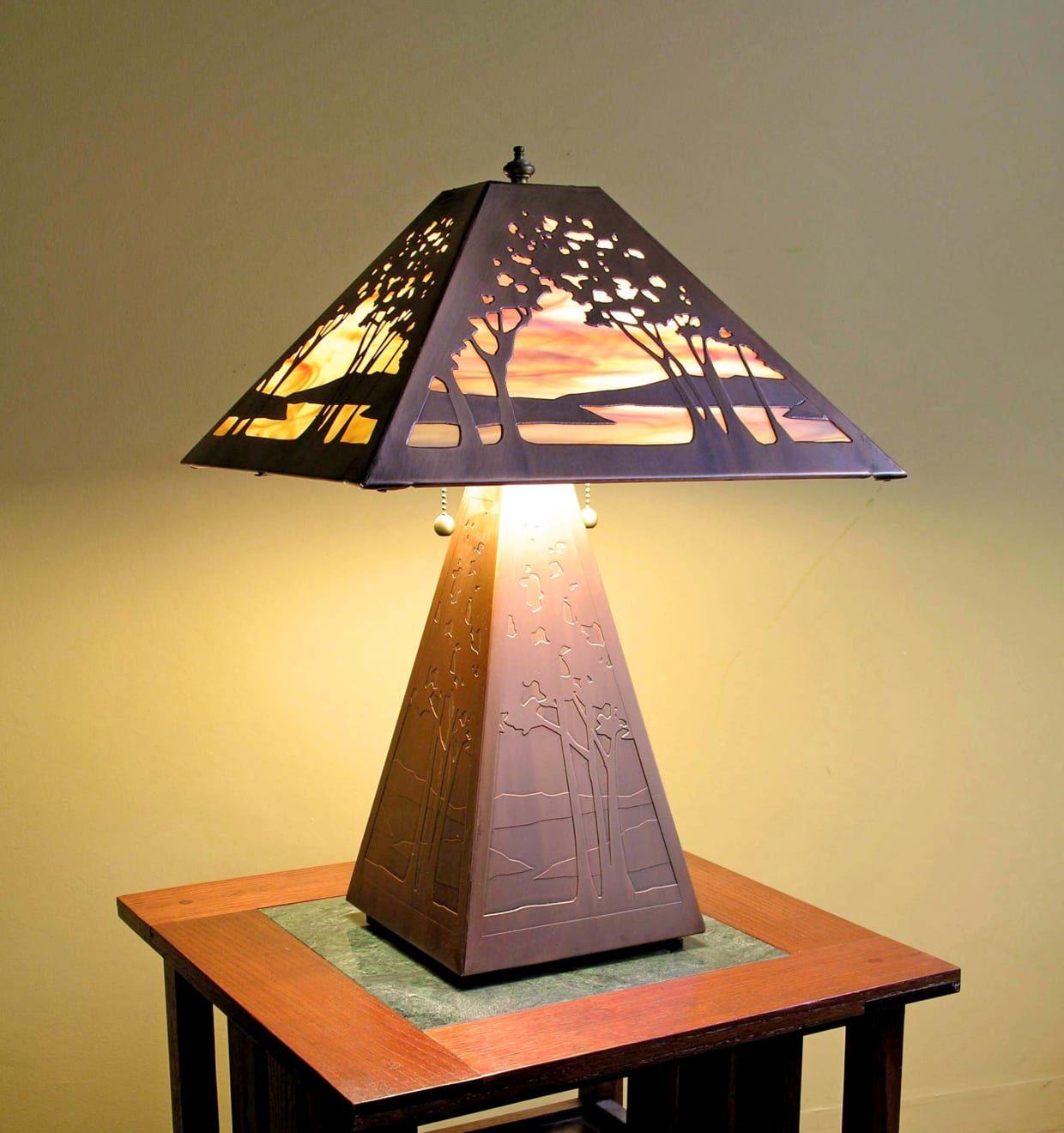 The Guild James Mattson Coppercraft Craftsman Lamps Lamp Craftsman Furniture