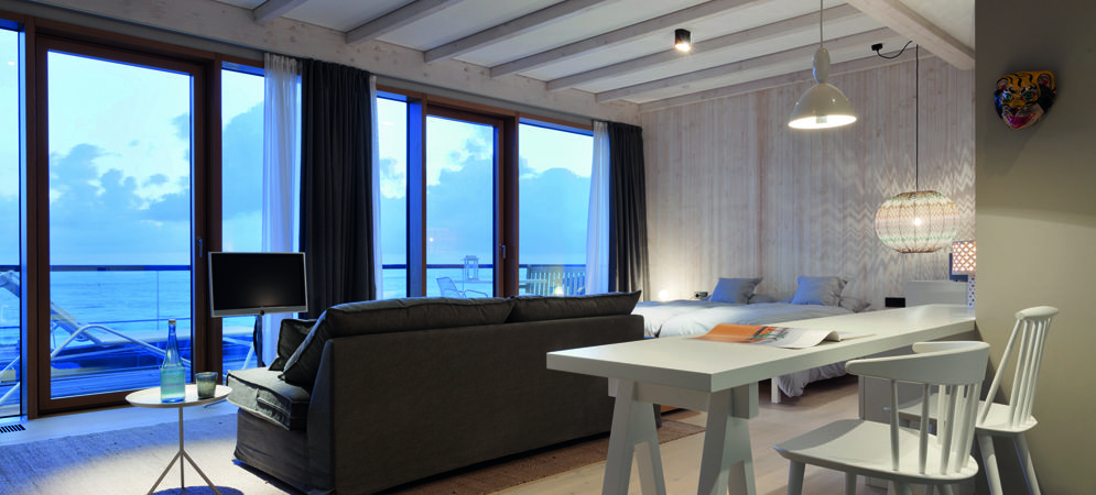 inselloft norderney blick auf die nordsee penthouse reise deutschland pinterest. Black Bedroom Furniture Sets. Home Design Ideas