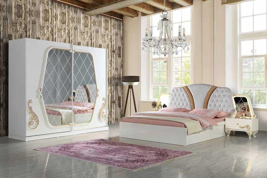 Celmo Yagmur Yatak Odasi Takimi Krem Bedroom Bed How To