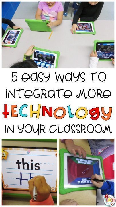5 Easy Ways to Integrate More Technology Into Your Instruction. From reading, wr...