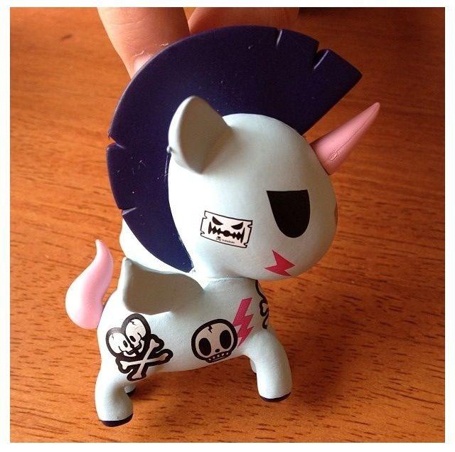 "Tokidoki Unicorno ""Pogo"" Unicorn rebel"