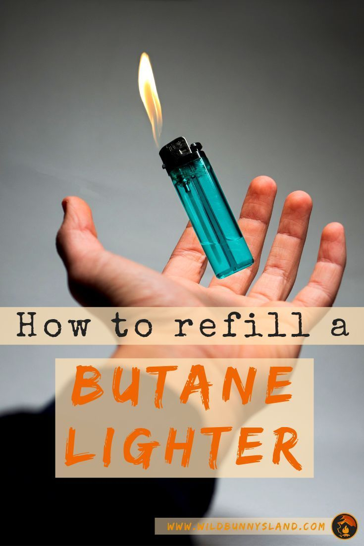 How to refill a butane lighter butane lighter lighter