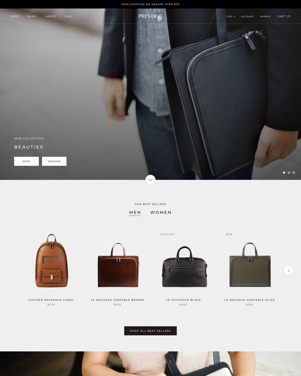 How to build a beautiful commence website...Try one of the