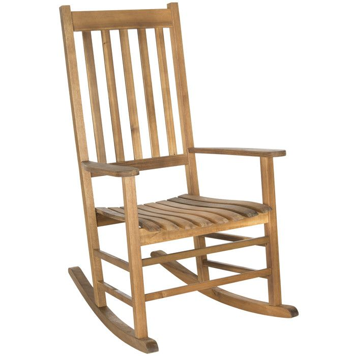 Safavieh Shasta Rocking Chair Frame Chaise lounges, Recliner and - garten lounge mobel holz