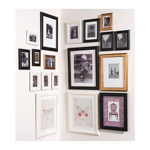 VIRSERUM Frame, dark brown | Pinterest | Cornice, Gallery wall and Walls