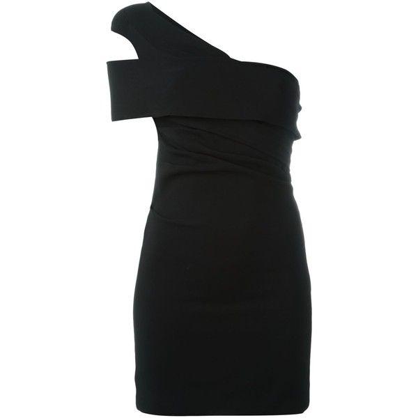 off-shoulder dress - Black Dsquared2 Purchase tbpRsa2