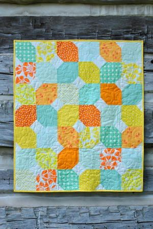 Citrus Mint Baby Quilt Baby Quilts And Throwlap Quilts