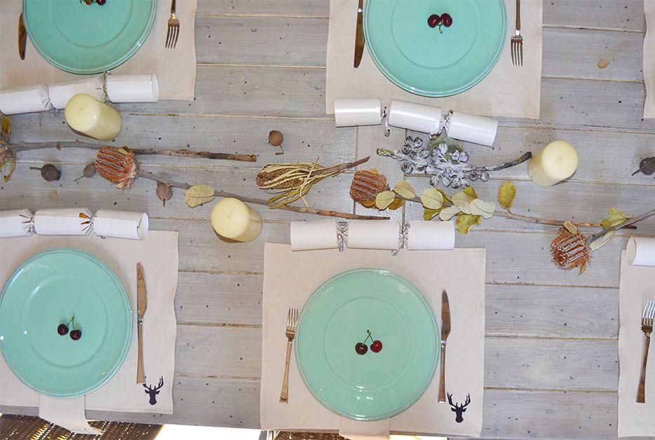 Christmas table on olsoul.com.au #christmasnapery #christmastable #entertain #australianchristmas #australia