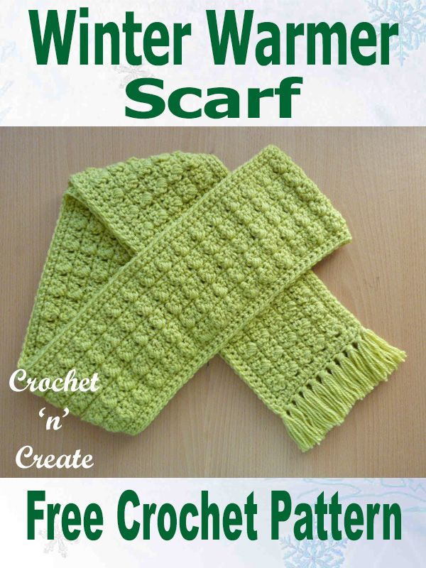 Free Crochet Pattern Winter Warmer Scarf Uk Crochet Accessories