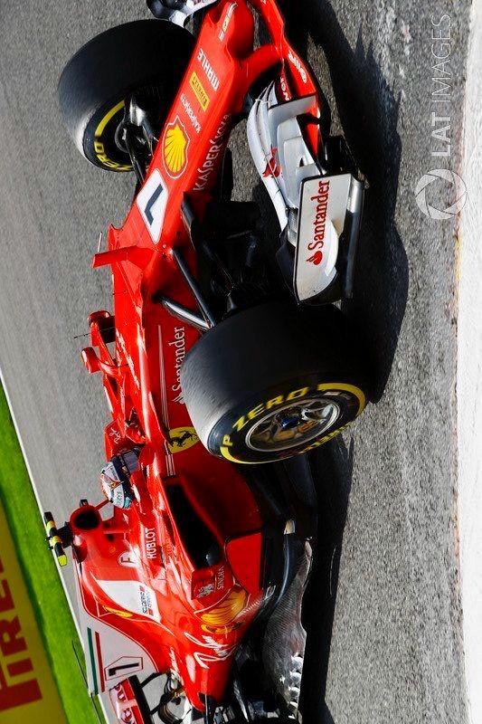 2017/8/28:Twitter:@AlbaEmilian: #F1 #BelgianGP  Race #Räikkönen @ScuderiaFerrari #ForzaFerrari #Ferrari #KimiRäikkönen #Kimi7 #SF70H @F1
