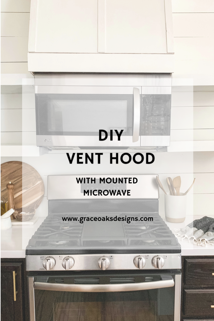 Diy Vent Hood Microwave In Kitchen Kitchen Vent Mounted Microwave