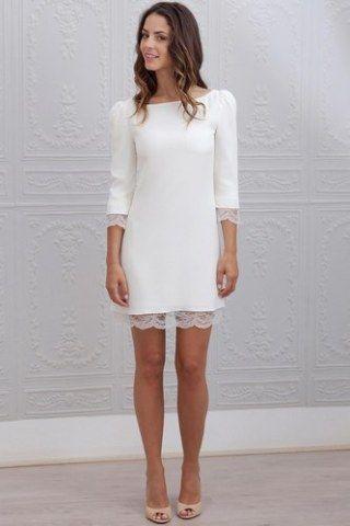 Quelle robe pour mon mariage civil    7727b6d6ae2