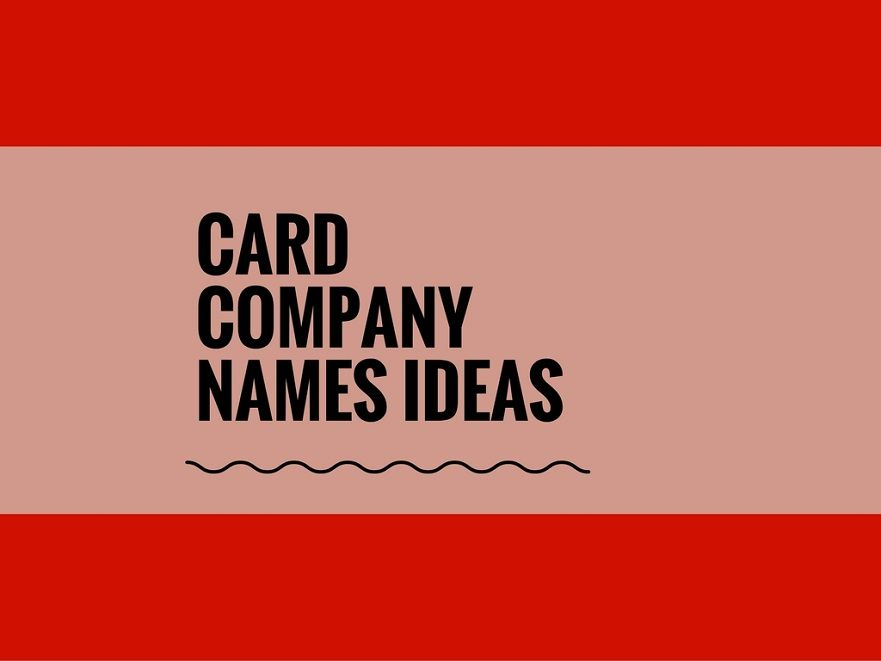 Lovely Card Making Name Ideas Part - 14: Greeting Cards Serve As A Way Of Expressing Sentiments Through The Written  Word.If You Love Making Cards And Itu0027s Your Passion. .A Creative Name Is  The Most ...