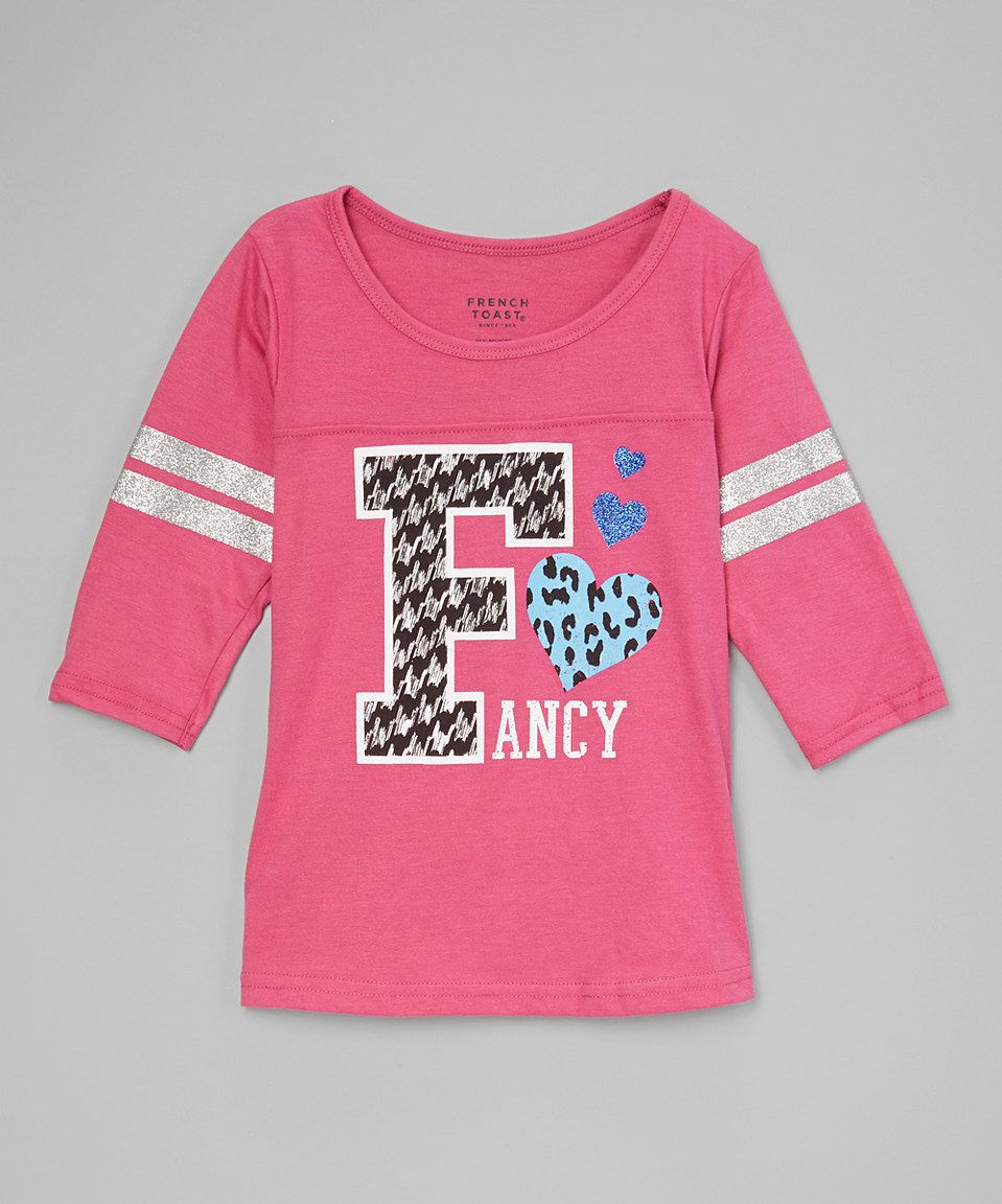 Another great find on #zulily! Medium Pink 'Fancy' Tee - Toddler & Girls by French Toast #zulilyfinds