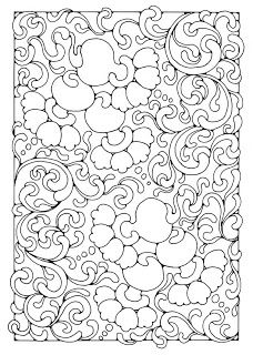 Fondo Marino Mandala Coloring Pages Coloring Books Pattern Coloring Pages