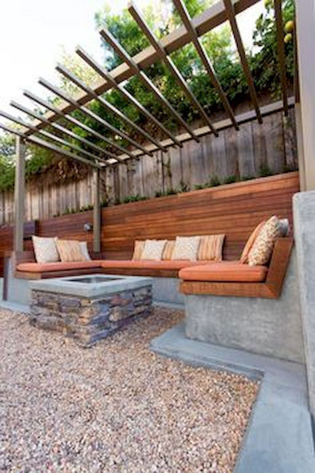 What You Should Do Is Concentrate On The Budget Apart From Comfort And Endurance The Budge Backyard Seating Area Modern Backyard Landscaping Backyard Seating