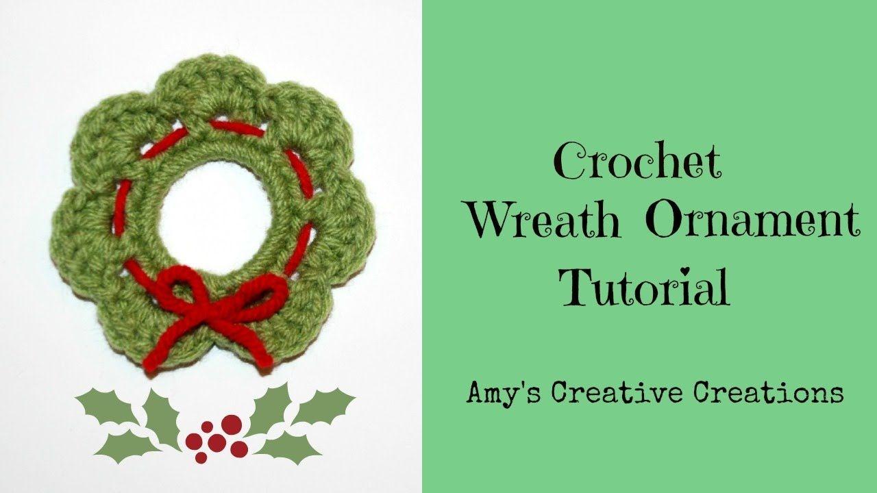 Photo of How to Crochet Wreath Ornament Tutorial – Crochet Jewel