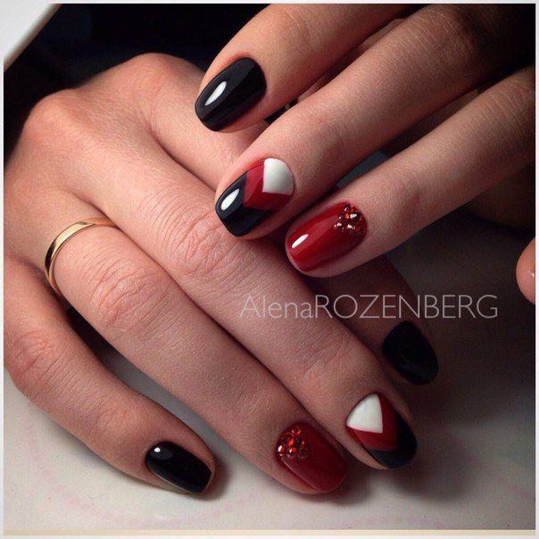 Маникюр | Дизайн ногтей | Uñas | Pinterest | Uñas elegantes, Arte ...
