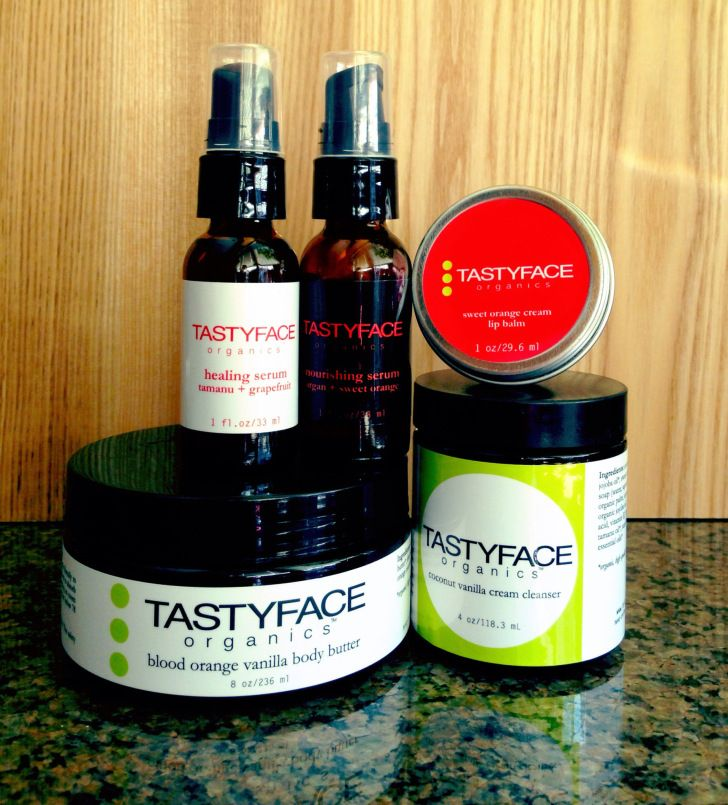 "No bullhonkey. No bogus promises. TastyFace Organics is the REAL deal. 100% organic skin care: TASTYFACE Organics. You can use the coupon code ""TFO4ROO10″ at checkout to save 10% on anything TastyFace! http://runonorganic.com/2014/11/05/tastyface-organics-skin-care-review-part-deux/ #organic #beauty #green #skincare #coupon #code"