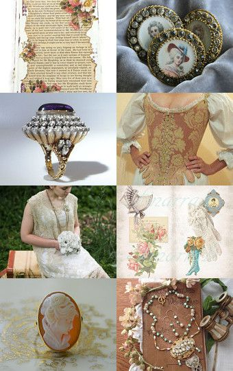 Romantic Literary Wedding Theme by Marilyn on Etsy--Pinned with TreasuryPin.com