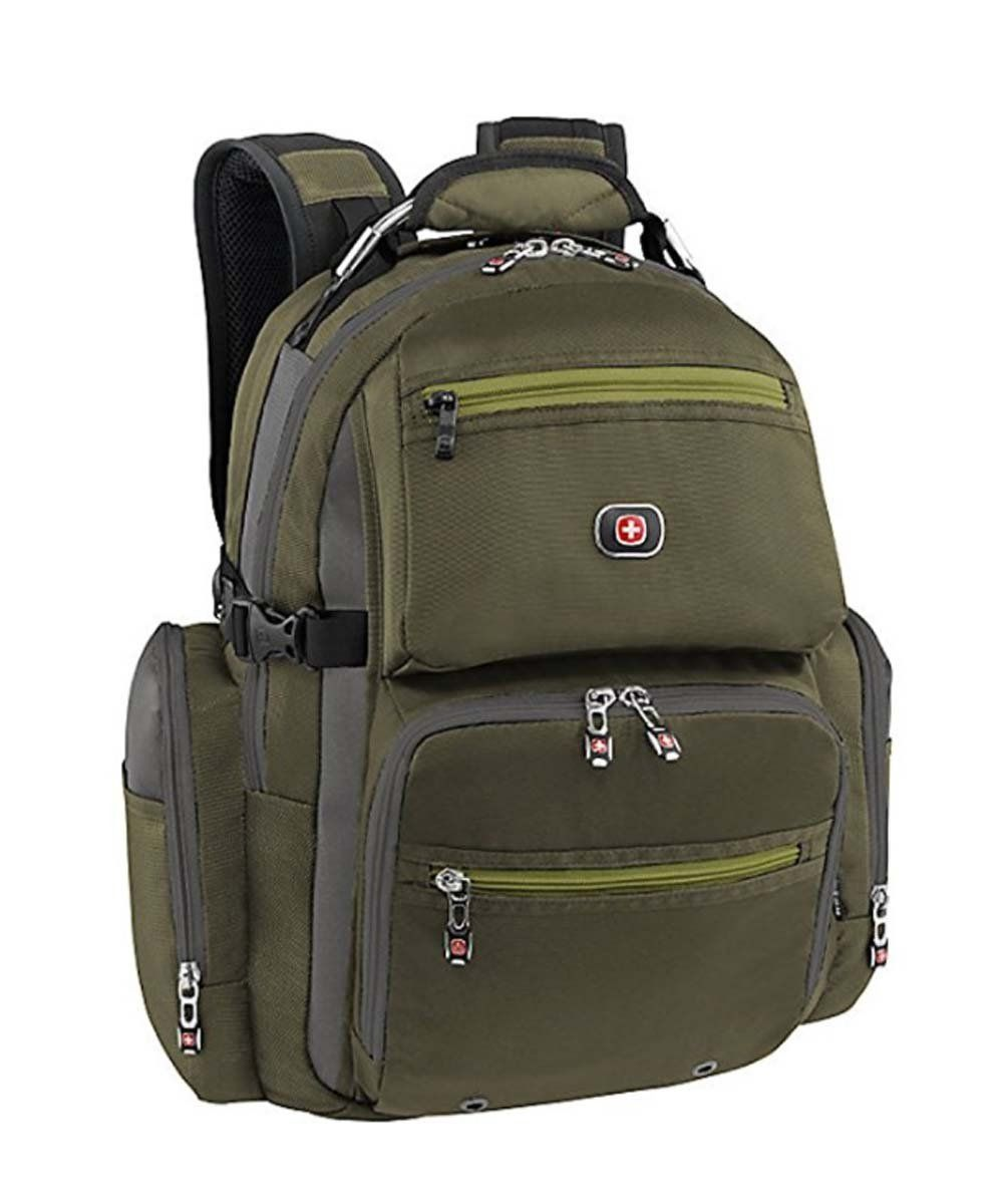 Laptop bags office depot - Swiss Gear Breaker 16 Laptop Backpack Olive Green Check Out This Great Image