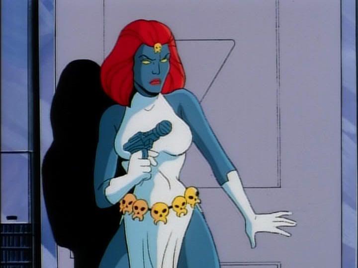 X Men Cartoon Mystique 90s Cartoon Cartoon Mystique Marvel
