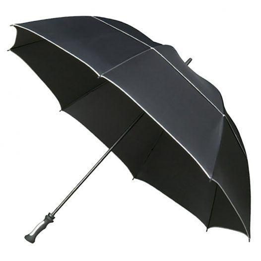 Black Golfing Umbrella, MaxiVent #bestumbrella Black Golfing Umbrella, MaxiVent- Umbrella Heaven #golfumbrella