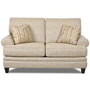 Elliston Place Fresno Loveseat Klaussner Furniture Love Seat Cheap Leather Sofas
