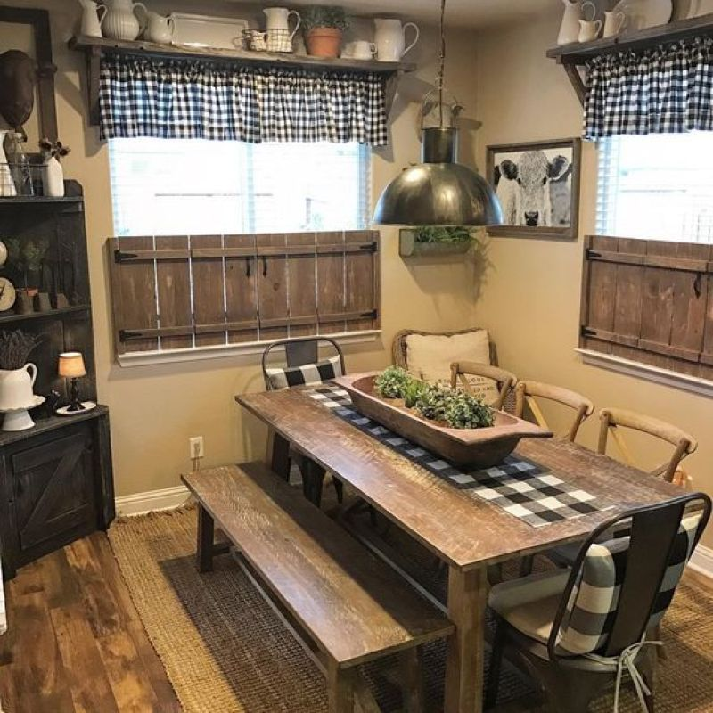 Charming Rustic Kitchen Ideas And Inspirations: 5 Charming Rustic & Farmhouse Decor Inspiration For Your